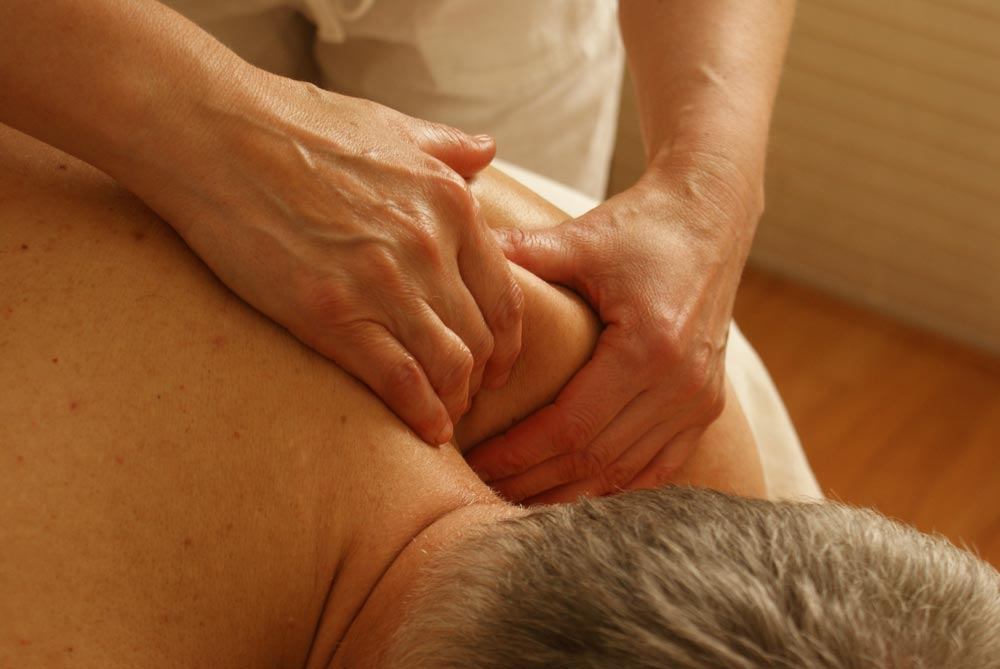 Pain Relief through massage, diet, and exercise